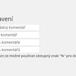 Tip na WordPress plugin č. 5 – Jak na české komentáře?