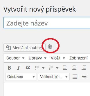 WordPress plugin - Flickr - pick a pic - nový příspěvek