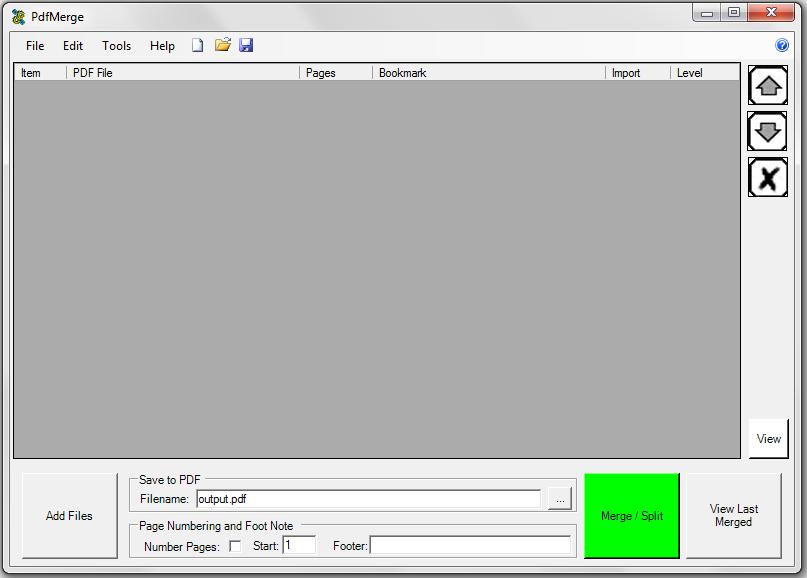 PdfMerge - jak spojit dvě PDF do jednoho