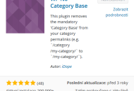 Plugin No category WP