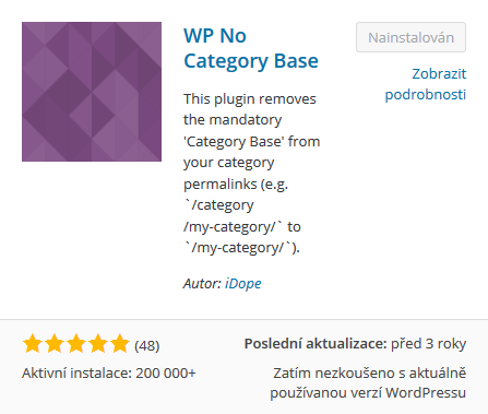 Plugin - No category WP