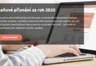 OnlinePriznani.cz danove priznani za rok 2020