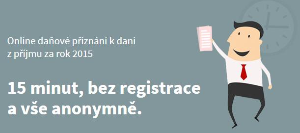 onlinepriznani.cz - Online daňové přiznání za 15 minut