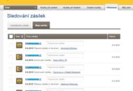 eská pošta online sledování zásilek po přihlášení
