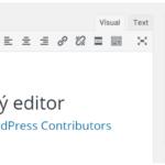 Tip na WordPress plugin č. 15 – Classic Editor (Klasický editor)