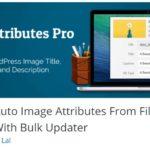 Tip na WordPress plugin č. 19 – automatické pojmenování nahrávaných obrázků (Auto Image Attributes From Filename)