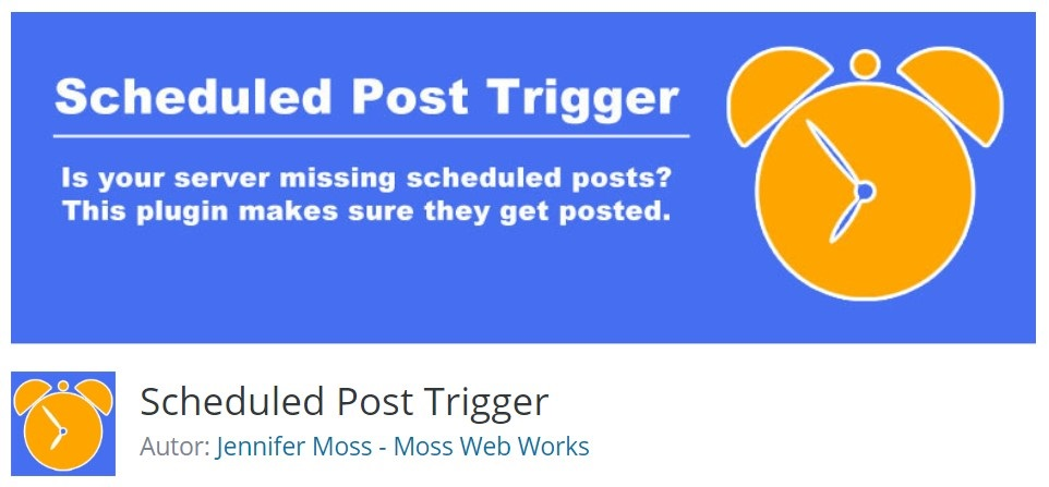 WordPress plugin Scheduled Post Trigger