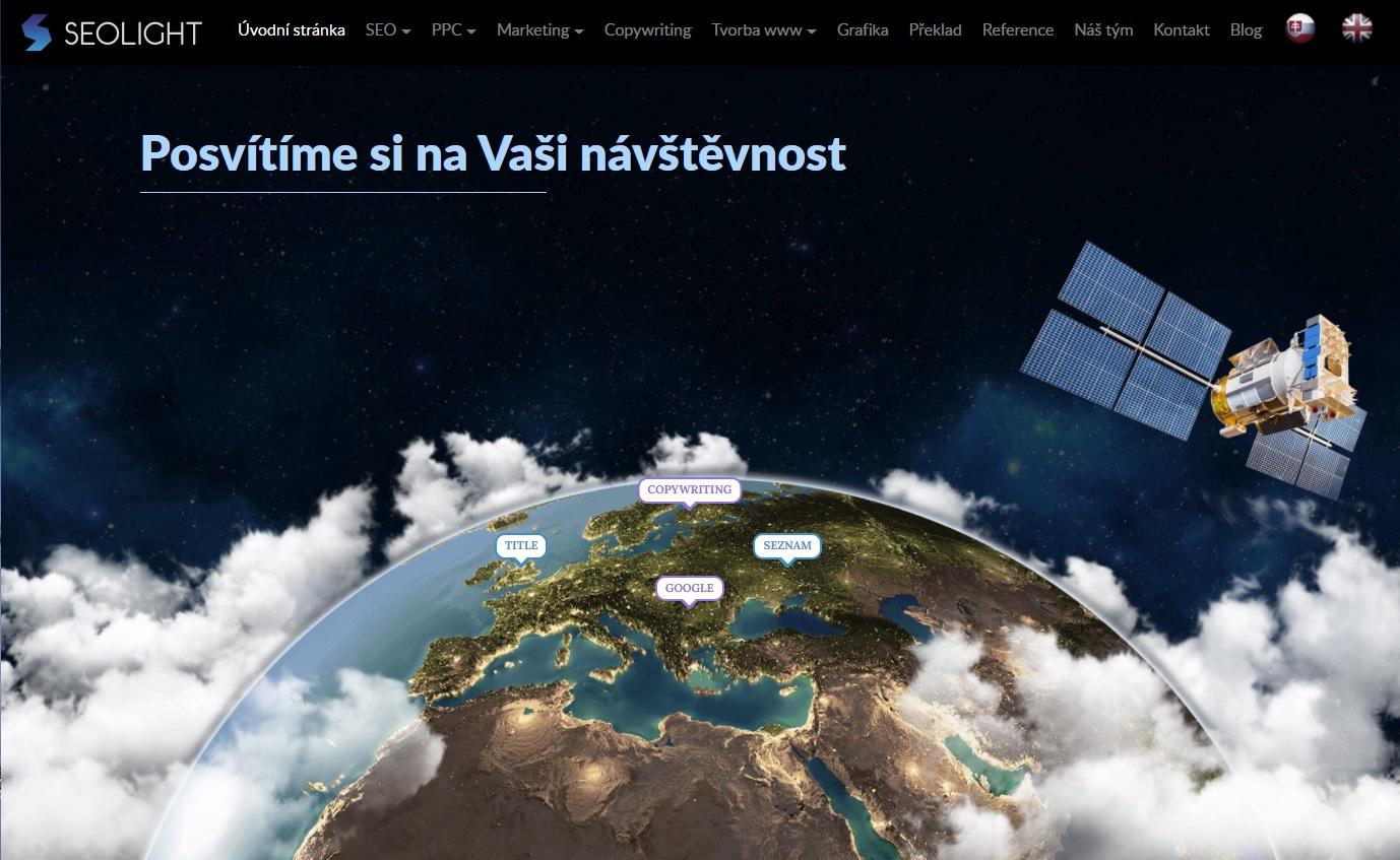 SEOLight web firmy