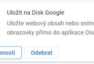 Rozsireni do Google Chrome Ulozit na Disk Google