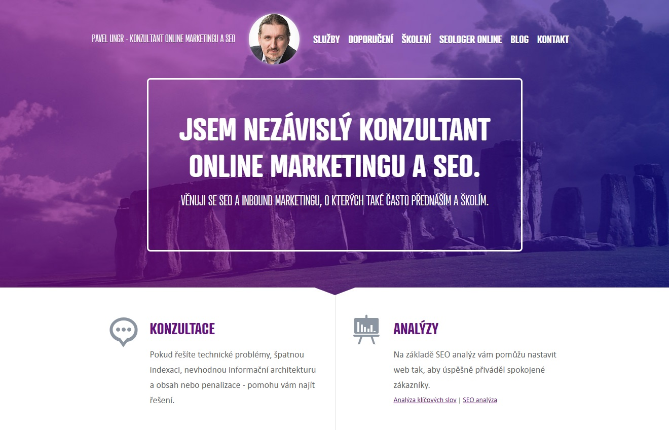 Pavel Ungr Blog